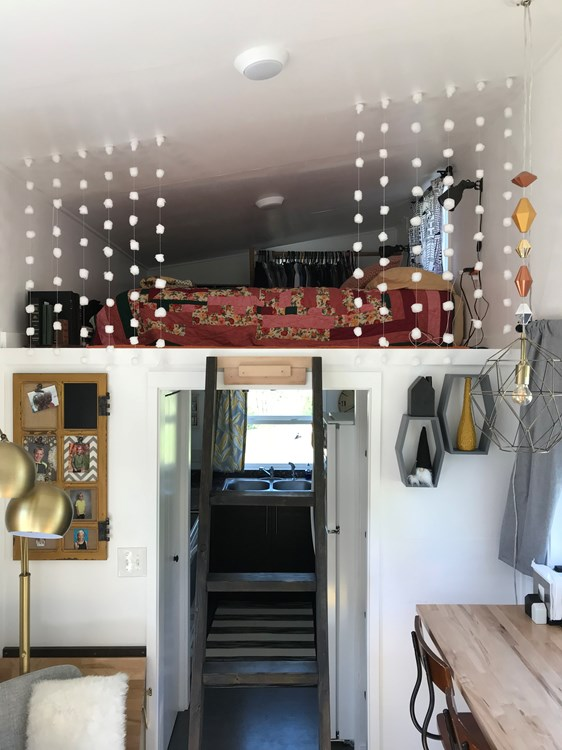 Simply Modern Tiny House On Wheels  9