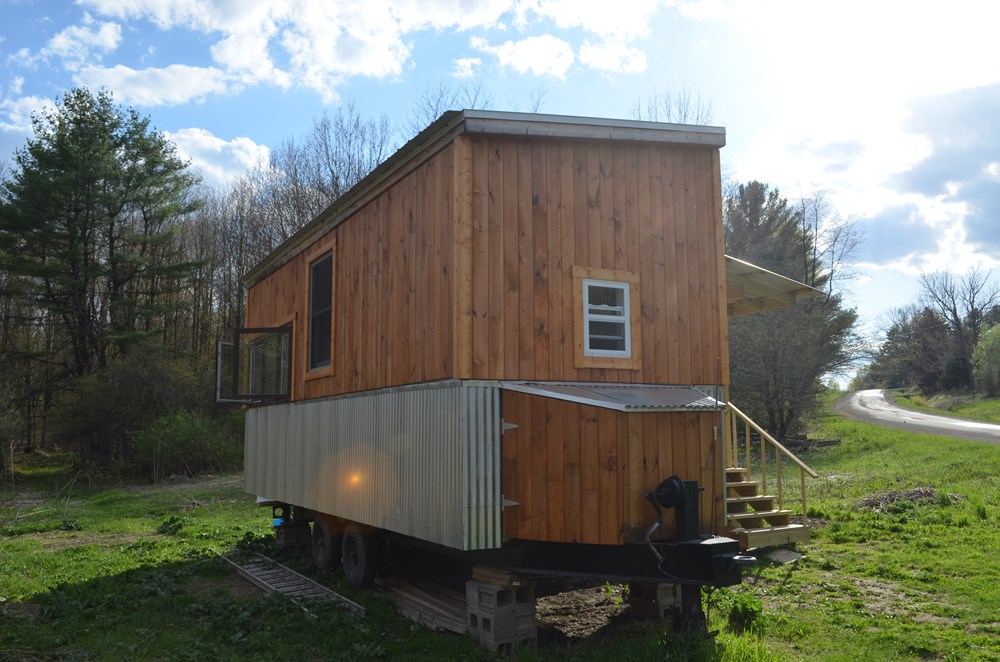 ***PENDING***   Beautiful 25ft Tiny House on Wheels for Sale in Upstate New York 15