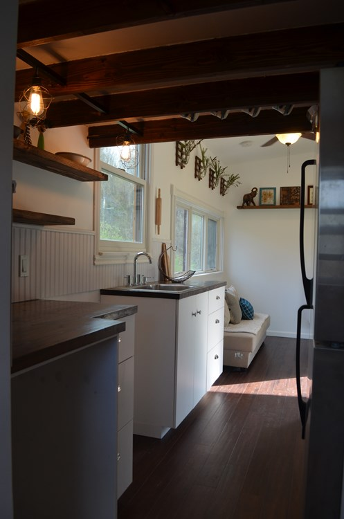 ***PENDING***   Beautiful 25ft Tiny House on Wheels for Sale in Upstate New York 9