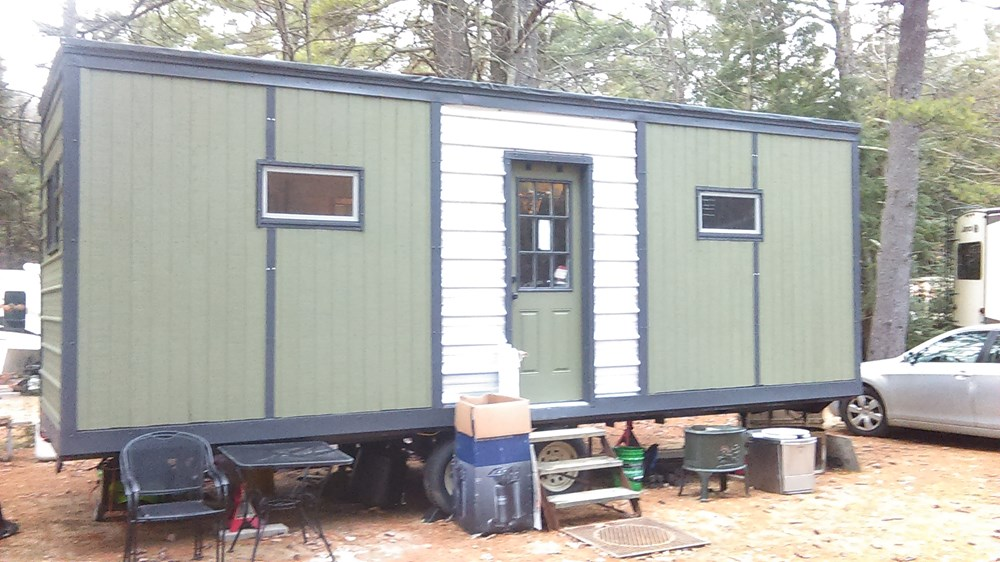 Almost done 8'x24' Tiny House