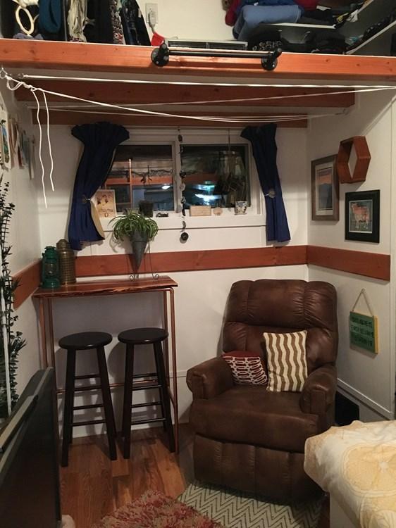 Tiny House For Sale Cedar Siding Tiny House On Wheels For