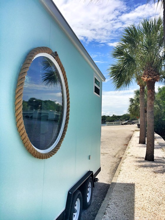 Tiny Beach House On Wheels Sleeps 4 4440 lbs LIGHTWEIGHT 2