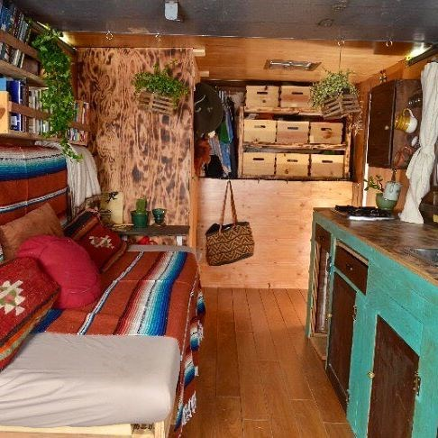 Tiny House for Sale - Box Truck Tiny House  Beautiful,