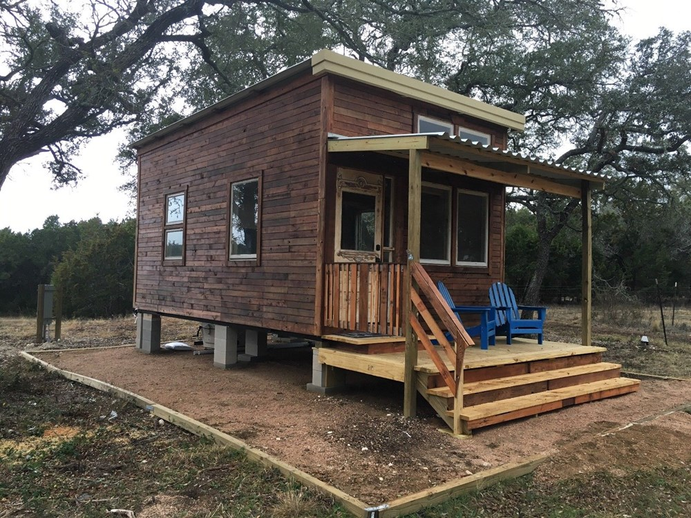 Tiny House For Sale Tiny House 12x16 W Reclaimed Wood