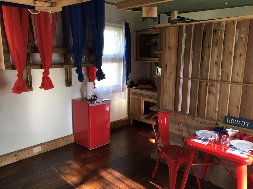 Tiny House 12x16 w reclaimed Wood & modern SIP Constructed w Clever Innovations 10