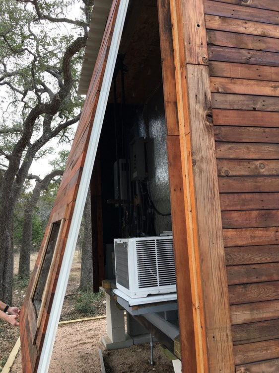 Tiny House 12x16 w reclaimed Wood & modern SIP Constructed w Clever Innovations 3