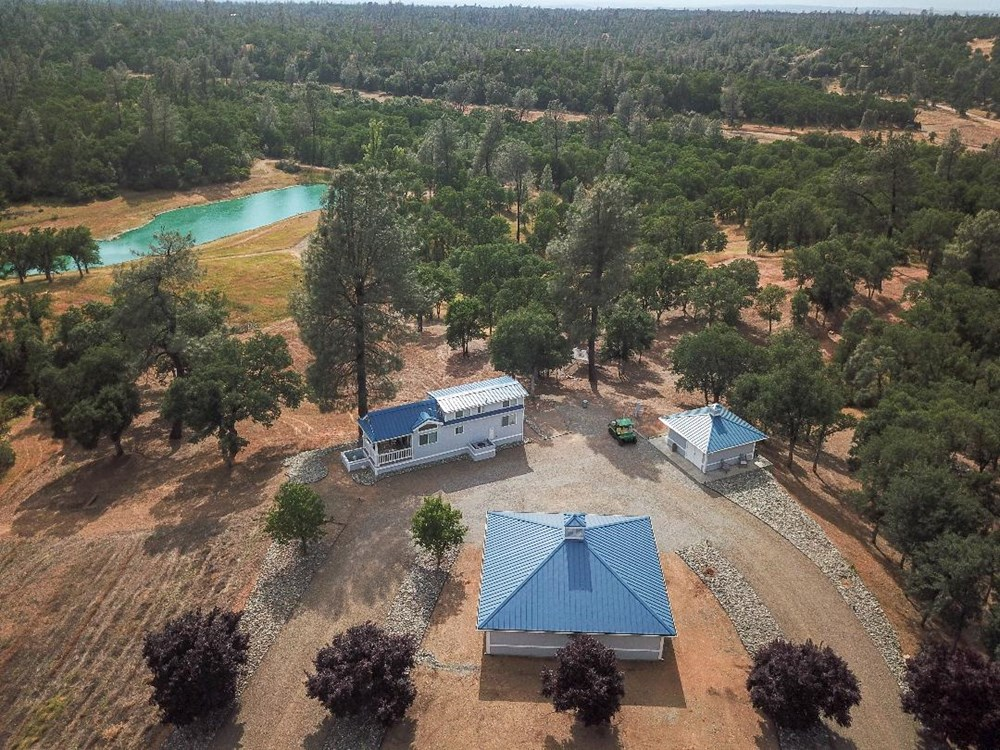Cottonwood, CA home w/ 39 acres & pond (cash buyers only) 1