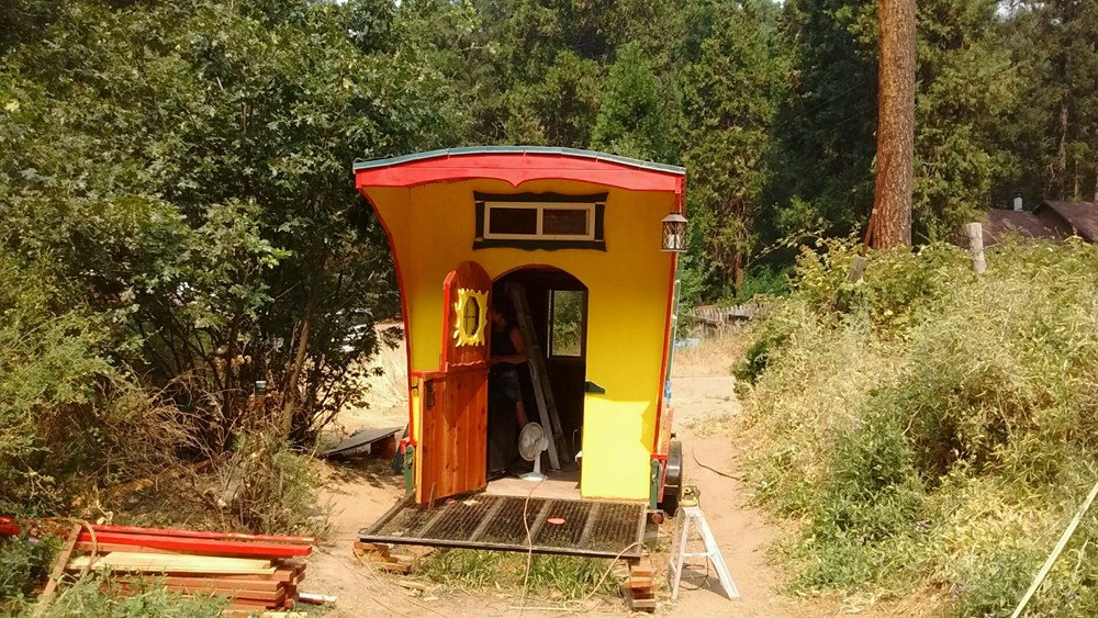 Tiny House for Sale - Harvest moon - gypsy style trailer