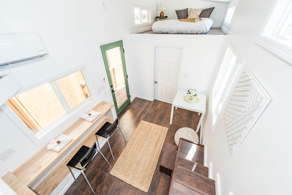 Tiny House For Sale 9 X 24 Modern Caravan Dual Loft