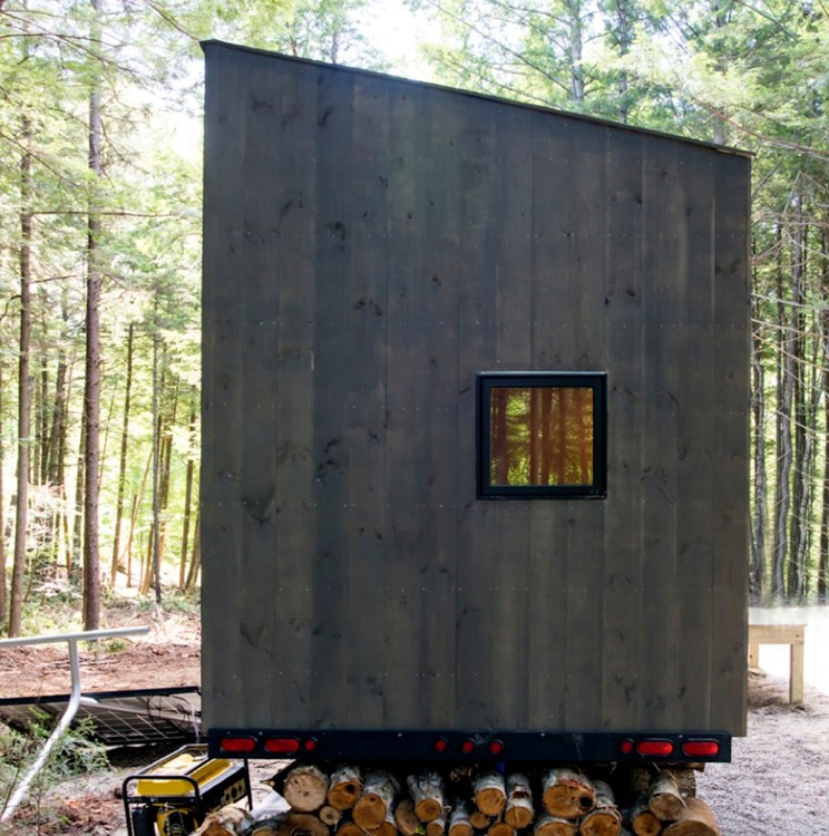 Custom-built Tiny house in NH with minimalist interior design 8