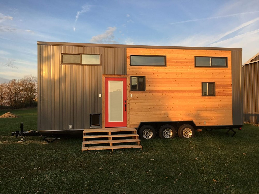 "28' ""Expedition"" Tiny Home by Maverick Tiny Homes"