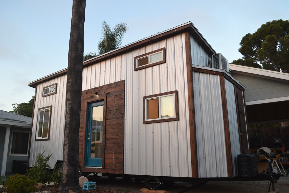 Steel Framed 24' Custom Modern Tiny Home 1