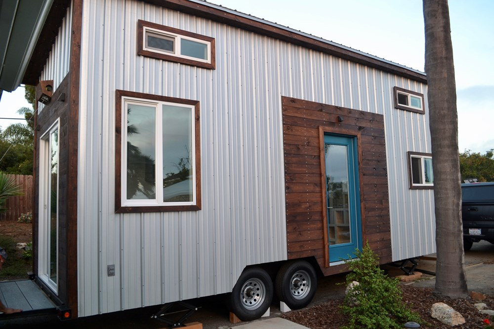 Steel Framed 24' Custom Modern Tiny Home 3