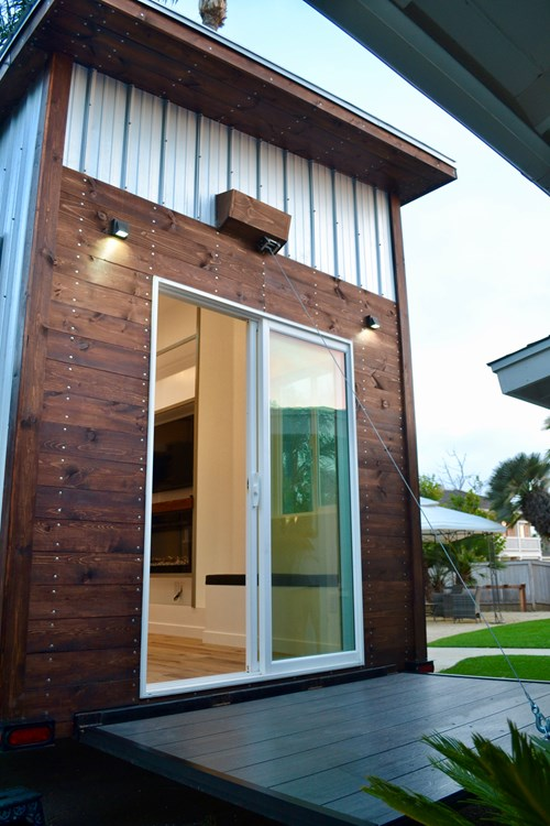 Steel Framed 24' Custom Modern Tiny Home 2