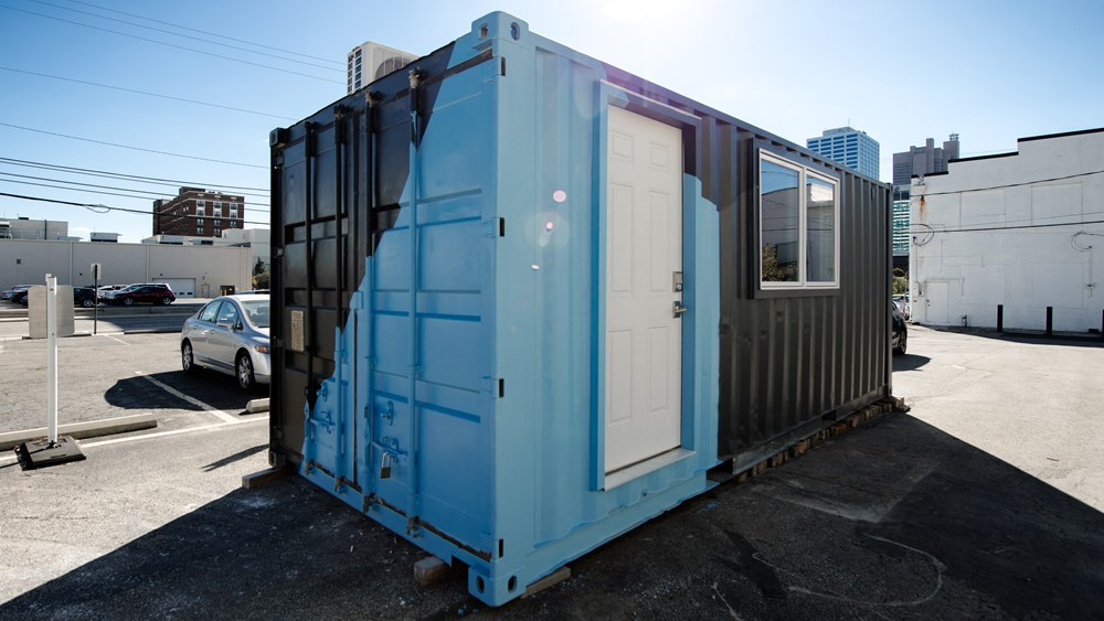 The Calico Container Home 1