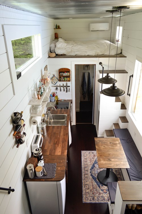 Spacious Bright Tiny House 7