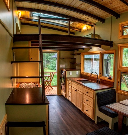 Tiny House For Sale 25 Foot Tiny House On Wheels With