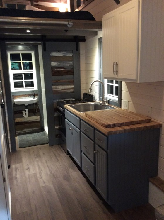 New craftsman style 20 foot tiny home with lots of character 13