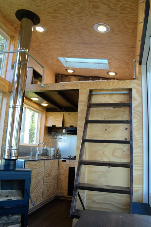Custom Built Tiny House On Wheels - NEW 10