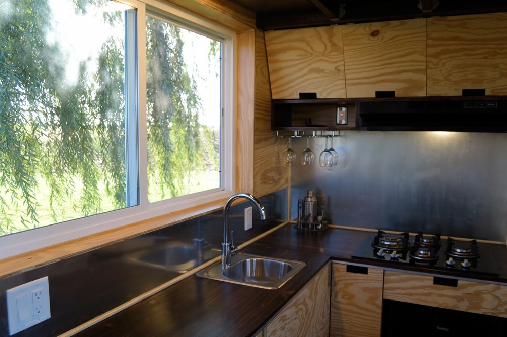 Custom Built Tiny House On Wheels - NEW 18