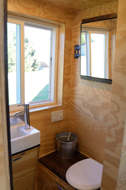Custom Built Tiny House On Wheels - NEW 23