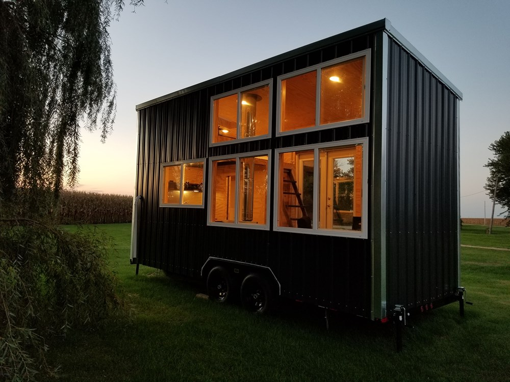 Custom Built Tiny House On Wheels - NEW 2