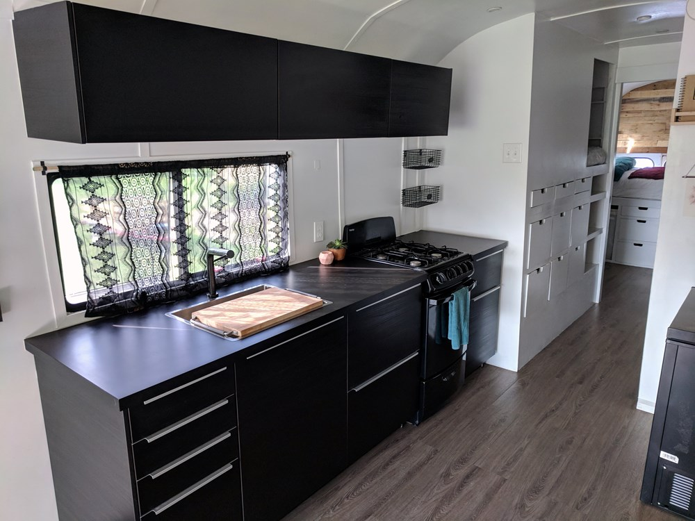 Apartment With No Kitchen Sink