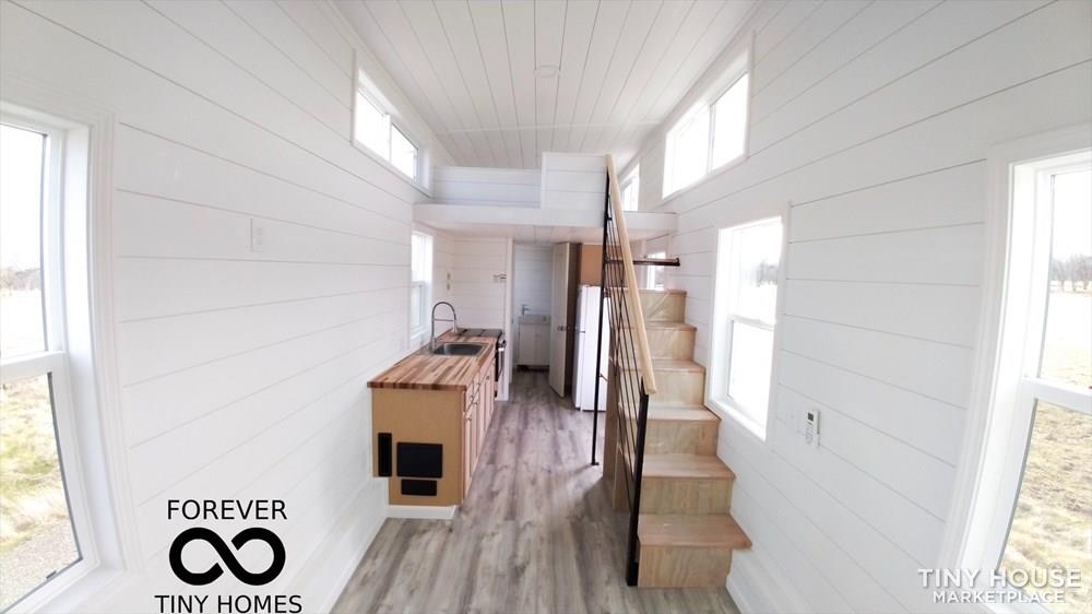 24' Forever Tiny with large Open layout with loft/ can have lower bedroom 3