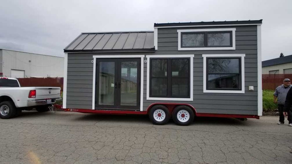 24 ft Tiny House on Trailer Built IN 2018