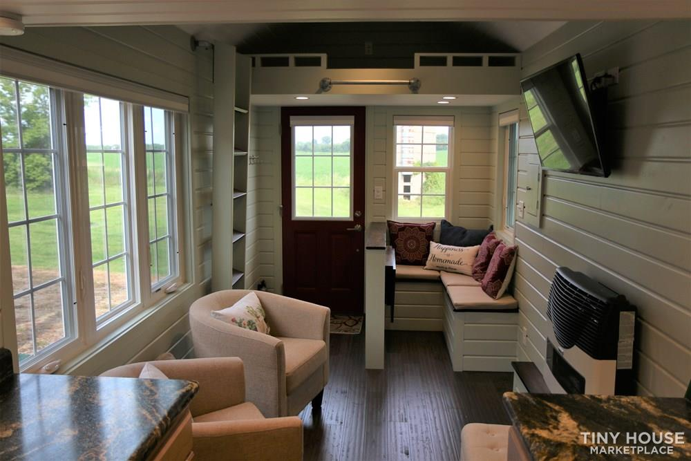 24 ft Tiny House on Trailer - Professionally Built and Third Party Inspected 1