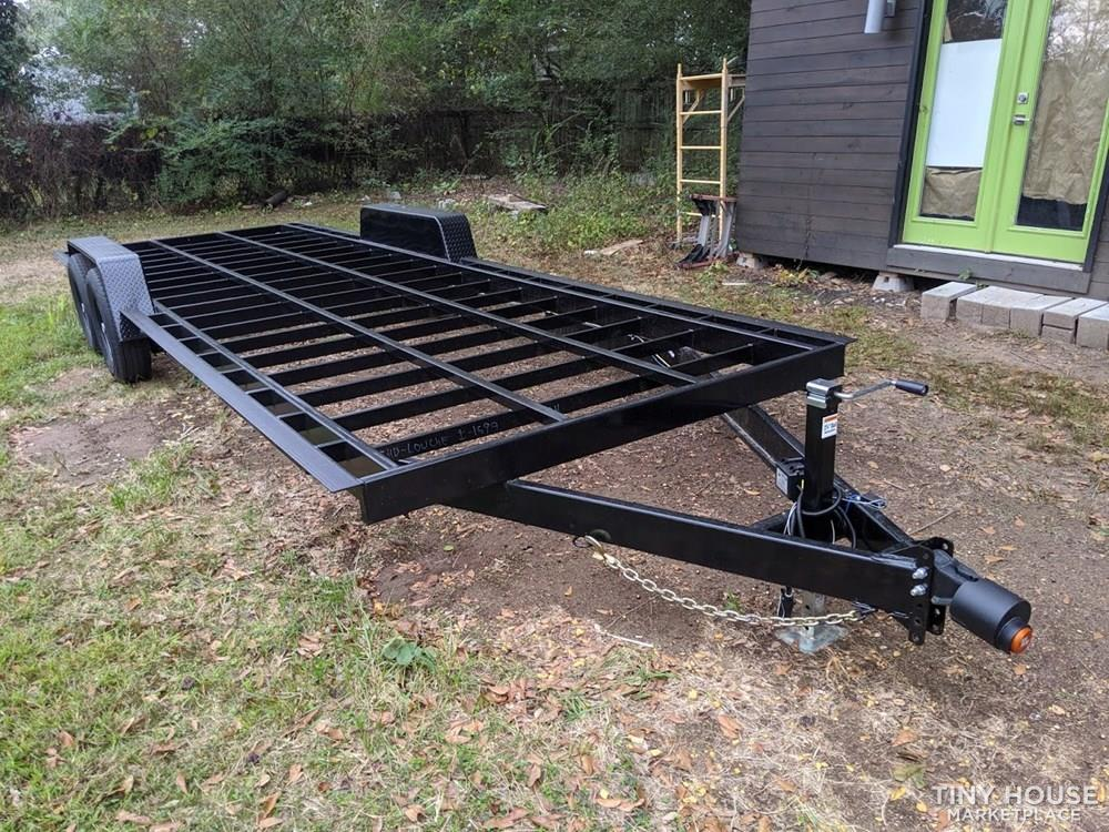 "24' x 98"" Official Tiny Home Builders Trailer with Drop Axles"