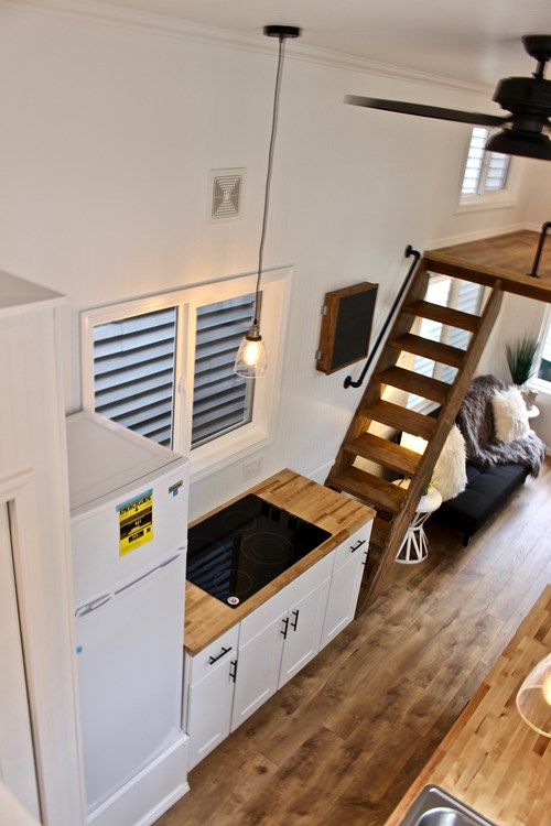 26' Chateau Shack Tiny Home on Wheels 4