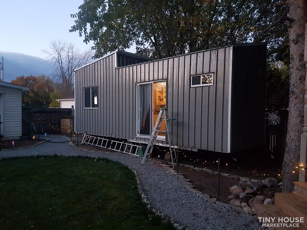 26ft steel framed tiny house 1
