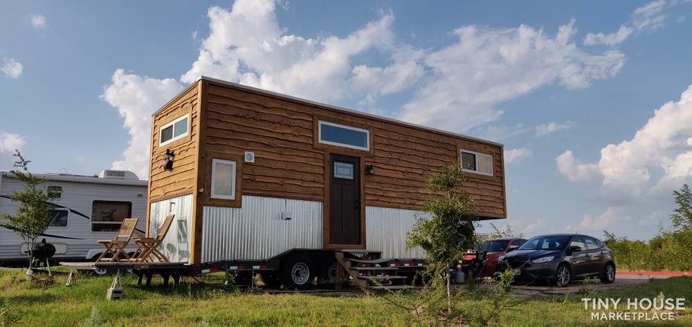 28 ft Gooseneck Tiny Home for Sale in Austin TX! 1
