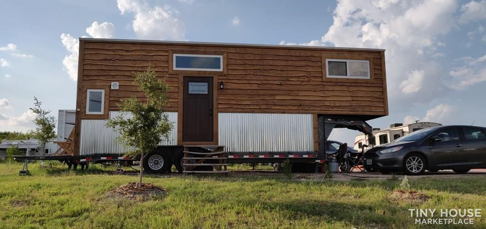 28 ft Gooseneck Tiny Home for Sale in Austin TX! 2