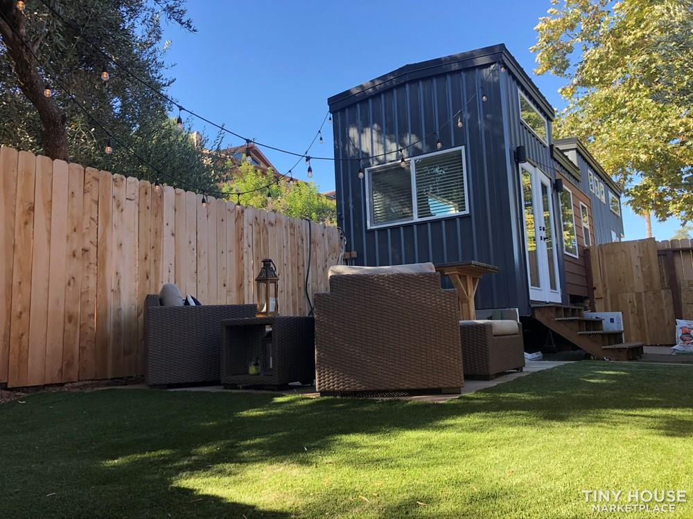 30' Modern Tiny w/ land to rent (Rare Opportunity)  13