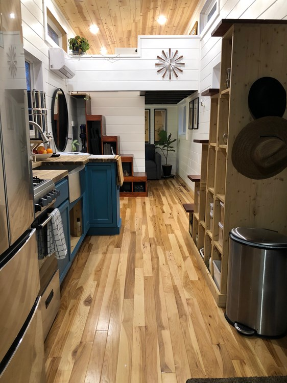 32 ft Tiny House with 2 Lofts, Flex Room + Walk-In Shower! 2