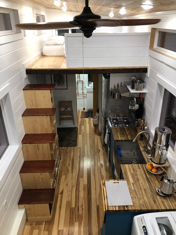 32 ft Tiny House with 2 Lofts, Flex Room + Walk-In Shower! 3