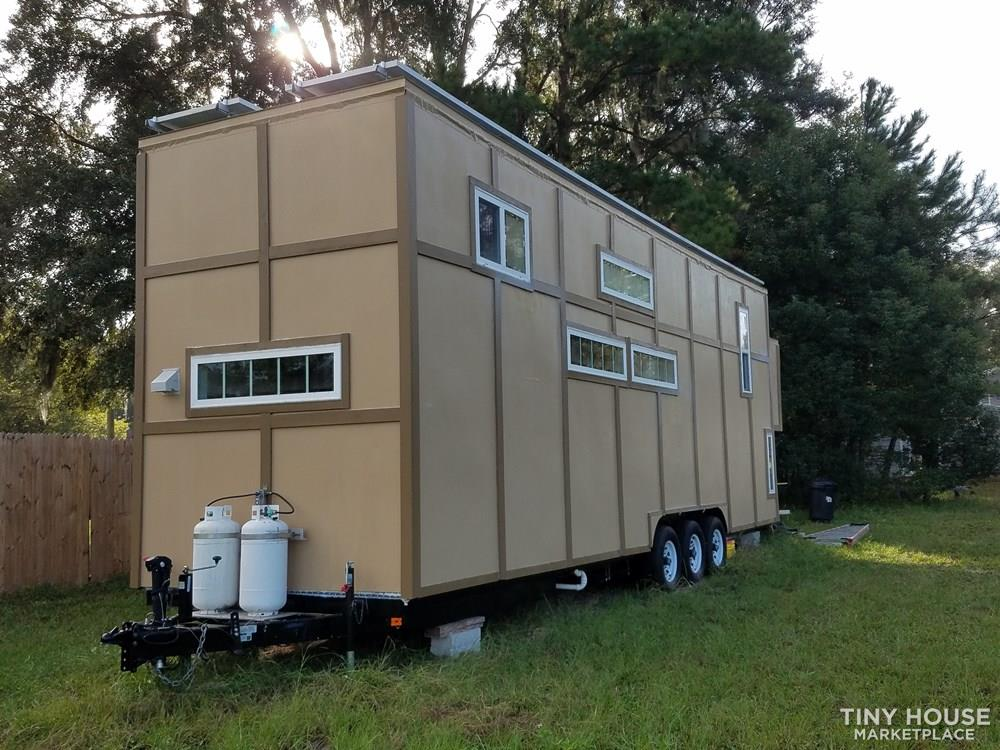 "6""2"" Headroom in Florida Tiny House-Price Reduced Over $10,000! Owner Financing"
