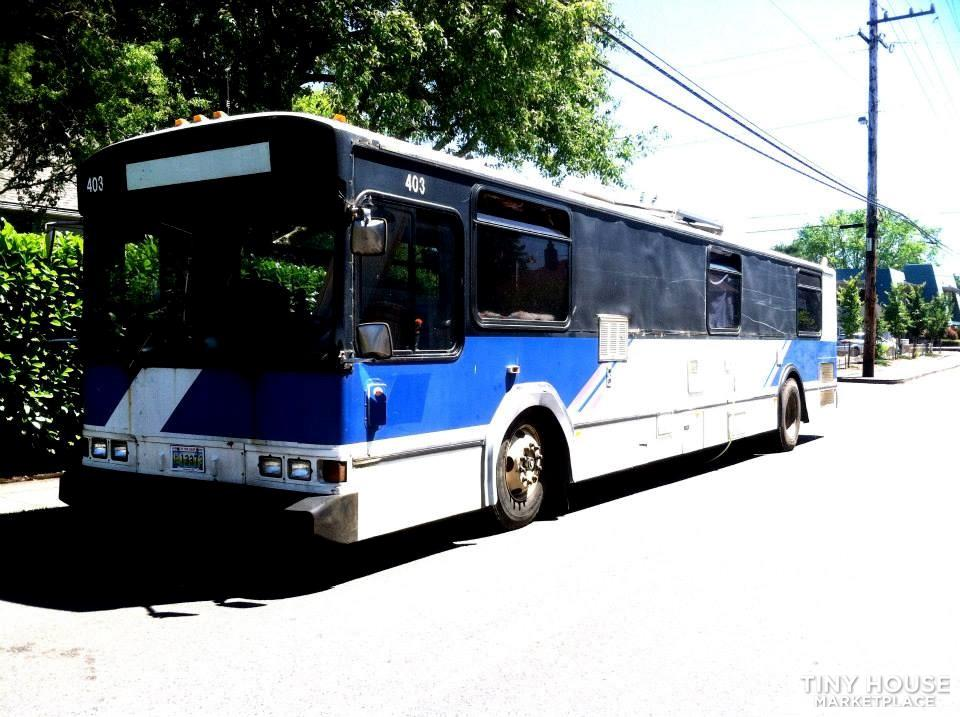 82 40ft Gillig Phantom Conversion w Turbo Diesel engine,  Solar and Low miles