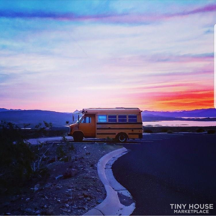 Amazing Tiny Skoolie for Sale (School Bus Conversion)