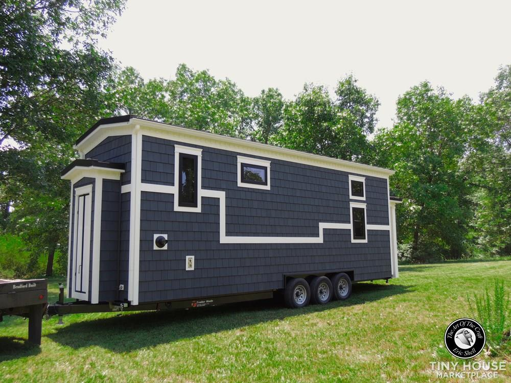 Beautiful, 28FT Tiny Home With Downstairs Bedroom and Bathtub!  62