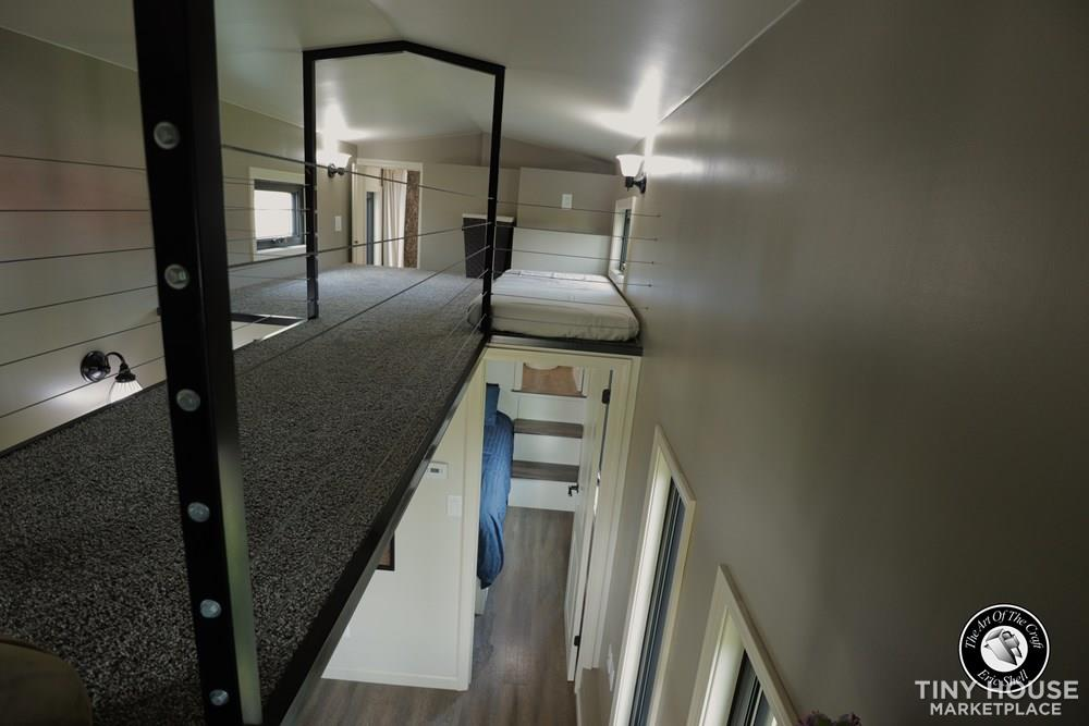 Beautiful, 28FT Tiny Home With Downstairs Bedroom and Bathtub!  54