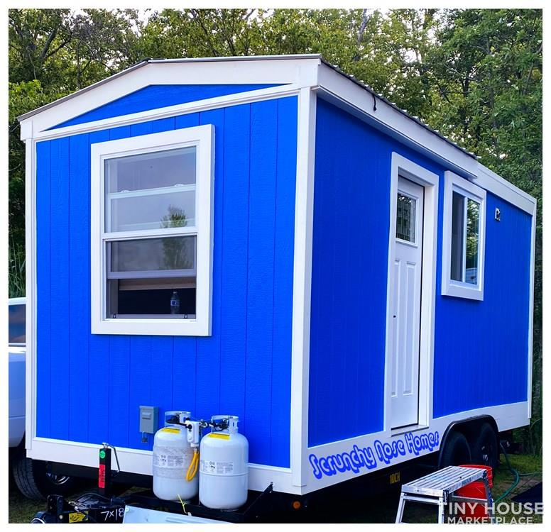 """Big Blue"" 18'x8'x11.5' Tiny Home On Wheels (On/Off Grid)"