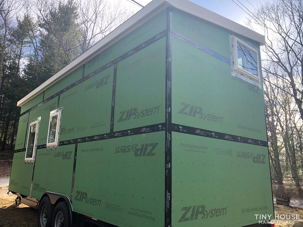 Brand New 24' Tiny House Shell 3