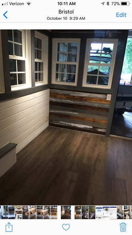 New craftsman style 20 foot tiny home with lots of character 22