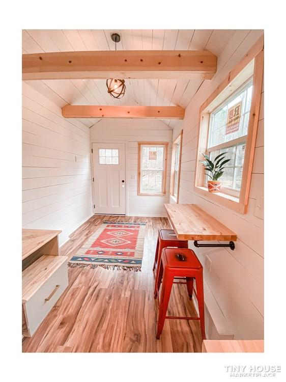 Tiny Modern Farmhouse on Wheels  20