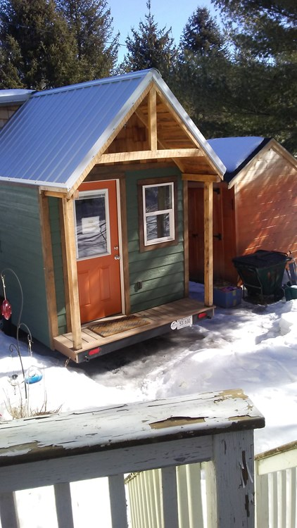 Tiny House For Sale Brand New Tiny Home On Trailer