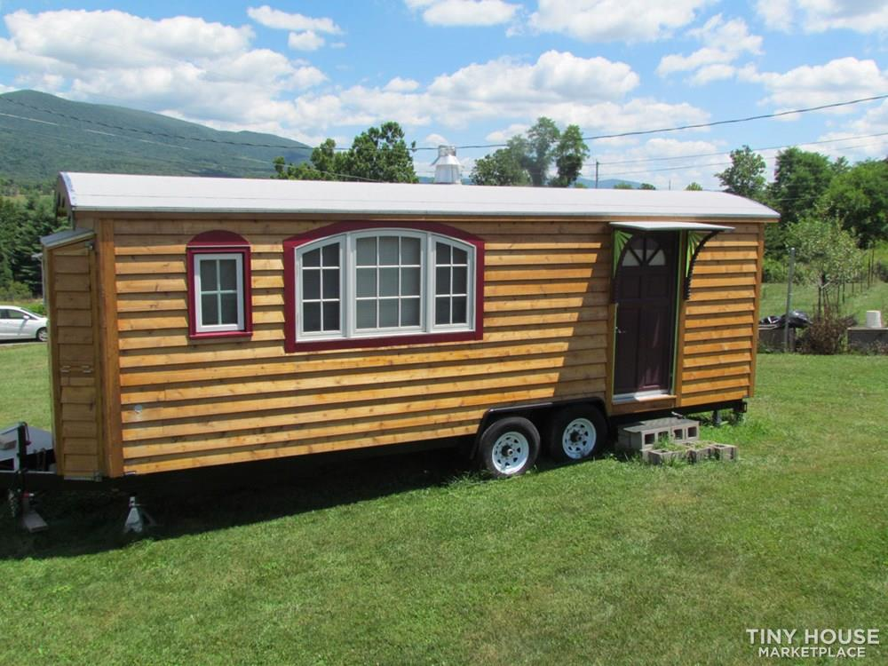 Caravan-style Tiny Home with ADA Features 1