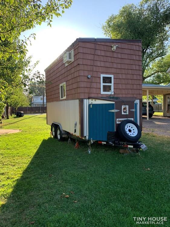 Tiny House For Sale Cedar Birch Tiny House On Wheels